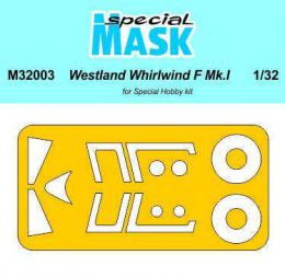 SPECIAL HOBBY 1/32 Westland Whirlwind Mk.I Mask for SH