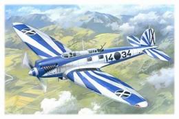 ICM 1/72 Heinkel He-70F-2 Spanish Air Force Reconnaissance Plane