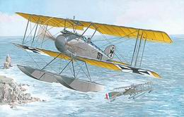 RODEN 1/72 Albatros W.4 late