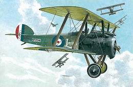 RODEN 1/72 Sopwith F.1 Camel  w/Bentley