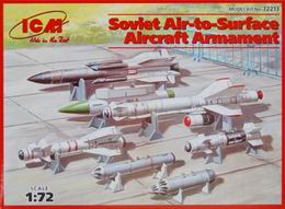 ICM 1/72 Soviet air-to-surface aircraft armament