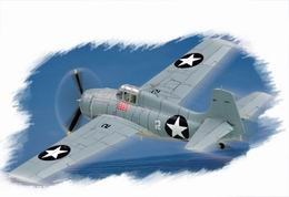 HOBBYBOSS EASY 1/72 F4F-4 Wildcat
