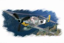 HOBBYBOSS EASY 1/72 Bf-109G-6 Early