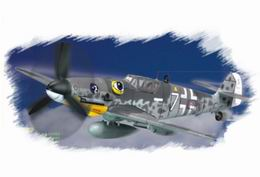 HOBBYBOSS EASY 1/72 Bf-109G-6 Late