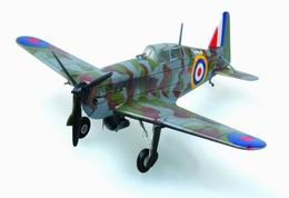 HOBBYBOSS EASY 1/72 MS.406 French Fighter