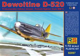 RS Model 1/72 Dewoitine D-520