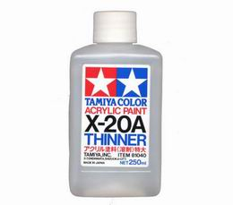 TAMIYA X-20A 250ml Acryllic thinner