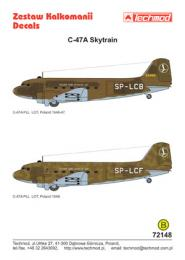 TECHMOD 1/72 C-47A Skytrain