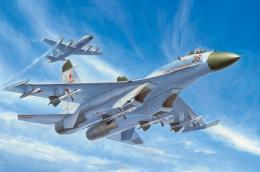 TRUMPETER 1/72 Su-27 Early version