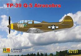 RS MODEL 1/72 Bell TP-39Q-5 Airacobra Trainer plane