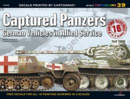 KAGERO TopColors No,39 Captured Panzers German Vehiclesin Allied Service