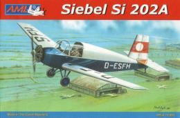 AML 1/72 Siebel Si-202A German Light lane