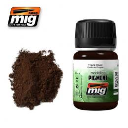 AMMO.MIG Pigments 35ml Track Rust