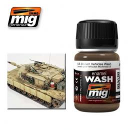 AMMO.MIG Ename Wash U.S Modern Vehicles Wash