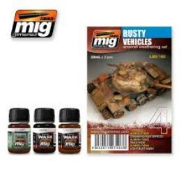 AMMO.MIG Rusty Vehicles set