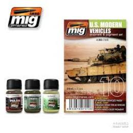 AMMO.MIG U.S Modern Vehicles set