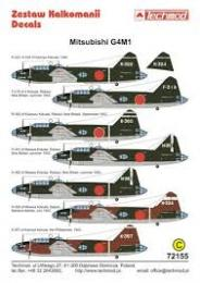 TECHMOD Decals 1/72 Mitsubishi G4M1 Betty Pt 2