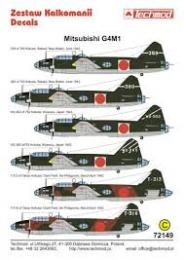 TECHMOD Decals 1/72 Mitsubishi G4M1 Betty Pt 1