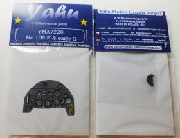 YAHU 1/72 Bf-109F/Early G Instrument panel for ZVE