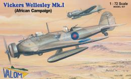 VALOM 1/72 Vickers Wellesley Mk.I Africa campaing