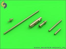 MASTER AIR 1/72 MiG-15/15bis gun barrels, antenna base, pitot