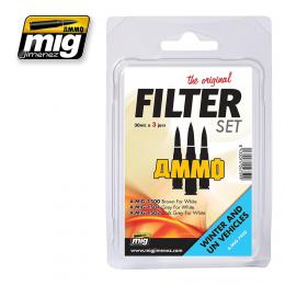 AMMO.MIG Filter For Winter And UN Vehicles Set 3x35ml