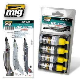 AMMO.MIG UK Aircraft Colors from 50s to present Set 4x17ml Color set