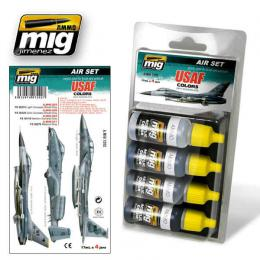 AMMO.MIG USAF Colors Grey Modern Jets Set 4x17ml Color set