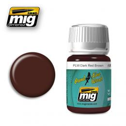 AMMO.MIG Panel Line Wash  Dark Red Brown 35ml
