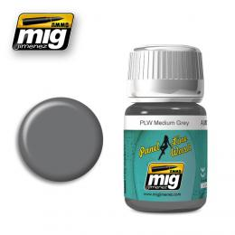 AMMO.MIG Panel Line Wash Medium Grey 35ml