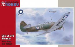 SPECIAL HOBBY 1/72 CAC CA-3/6 Wirraway First Blood over Rabaul