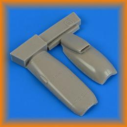 QUICKBOOST 1/72 Spitfire Mk.IXc Late engine covers for EDU