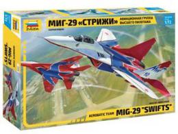 ZVEZDA 1/72 MiG-29 izd. 9-13 The Russian Swifts