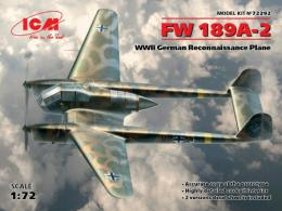 ICM 1/72 Fw-189A-2 Uhu German Recon plane