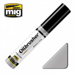 AMMO.MIG Oilbrusher Medium Grey