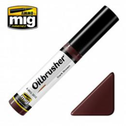 AMMO.MIG Oilbrusher Dark Brown