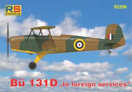 RS MODELS 1/72 Bücker 131D In foreign services