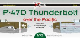 DK Decals 1/72 P-47D Thunderbolt over Pacific