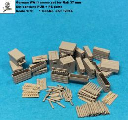 JK RESIN 1/72 German Flak 37mm ammo set w/PE Parts