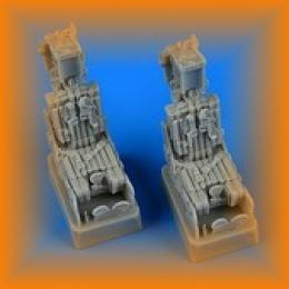 QUICKBOOST 1/72 F-14A Tomcat ejection seats w/Safety belts