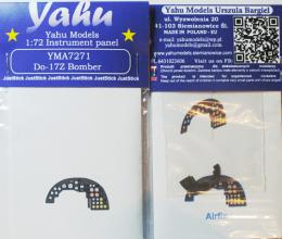 YAHU 1/72 Do-17Z Instrument panel for AIR