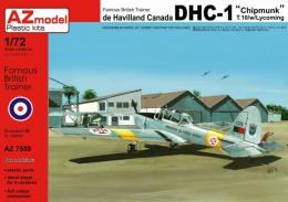 AZ MODEL 1/72 DHC-1 Chipmunk T.10 with Lycoming engine