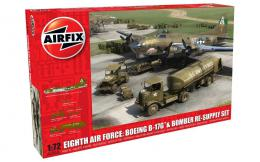 AIRFIX 1/72 Eighth Air Force: Boeing B-17G™ & Bomber Re-supply Set