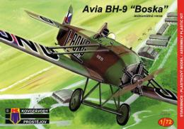 KOVOZÁVODY 1/72 Avia BH-9 Single seater
