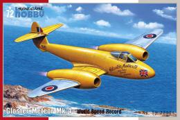 SPECIAL HOBBY 1/72 Gloster Meteor Mk.4 World Speed Record