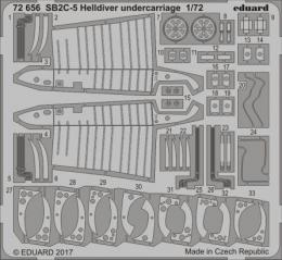 EDUARD Lepty 1/72 SB2C-5 Helldiver Undercarriage for SH