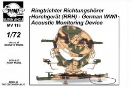 CMK 1/72 RRH German WWII Acoustic Monitoring device
