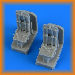 QUICKBOOST 1/72 SH-3H Seaking Seats w/Safety belts for FUJ