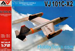 A&A MODEL 1/72 VJ-101C-X2 Supersonic VTOL Fighter