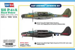 HOBBYBOSS 1/72 Northrop P-61 A Black Widow